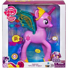 My Little Pony Princess Twilight Sparkle Figure. Is it bad that I think this is sooo super cool? lol Yeah, the kids would love this too.. ^_^