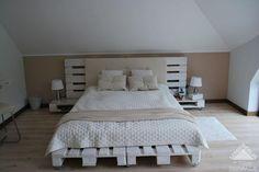 Sypialnia z euro palet    2