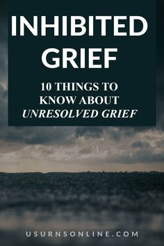 If you are experienced the unresolved grief known as Inhibited Grief, you may be wondering just exactly what you are going through. In this article, we go over just what Inhibited Grief looks like, how it is different than normal grief, and 6 helpful tips to help you deal with inhibited grief Dealing With Grief, Grief Loss, Things To Know, Helpful Tips, Useful Tips, Handy Tips, Helpful Hints