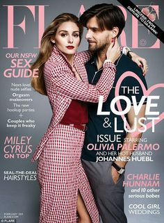 The Olivia Palermo Lookbook : Olivia Palermo With Johannes Huebl For Flare Magazine
