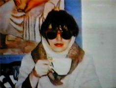 ☢ Christiane Felscherinow in the 80's.