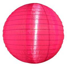 Hot Pink Nylon Lanterns