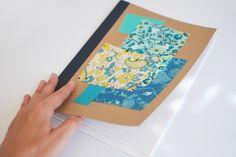 Cadernos de retalhos / Scrap notebooks | Mint Handicrafts