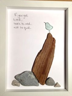 Motivation - ocean wine glass, driftwood, pebbles - when you get exhausted, learn to sleep . driftwood a glass inspiration learn pebbles tired Driftwood Crafts, Seashell Crafts, Beach Crafts, Sea Glass Crafts, Sea Glass Art, Sea Glass Decor, Sea Glass Beach, Stained Glass, Broken Glass Art