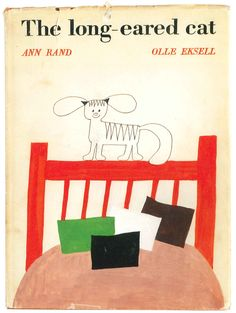 """Vintage children's book: """"The long-eared cat"""" by Ann Rand and Olle Eksell."""