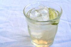 .homemade ginger ale.