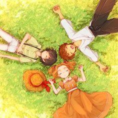 lelouch x nunnally x suzaku #codegeass #anime