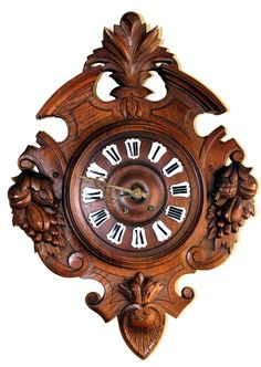 High Quality Antique Clocks For Sale Antique Clocks For Sale, Antique Decor, Antique Stores, Viking Symbols And Meanings, Diy Projects Engineering, Wooden Calendar, Unique Clocks, Mirror Painting, Wood Clocks