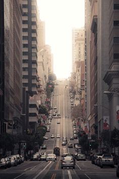 California St, San Francisco  by (lockedcog)