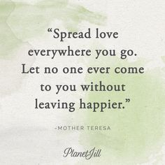 """It's our last quote honoring #NationalWomensHistory month: """"Spread love everywhere you go. Let no one ever come to you without leaving happier."""" - Mother Teresa. Next month, we'll feature quotes that celebrate Moms! #thrivethursday"""