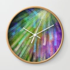 New and Glorious Rays Wall Clock