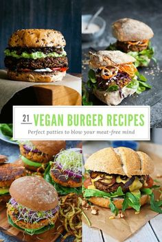 21 Amazing Vegan Burger Recipes: Perfect Patties That'll Blow Your Mind
