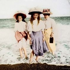 The Romanov love these colorized photo's