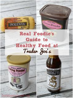 Did you know that Trader Joe's actually has some excellent deals? Check out the Real Foodies Guide to Healthy Food at Trader Joe's! Clean Eating Snacks, Healthy Eating, Healthy Options, Healthy Recipes, Get Healthy, Healthy Food, Healthy Shopping, Shopping Lists, Trader Joes