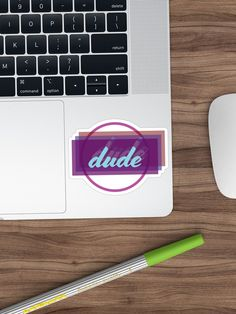 'The Dude Design' Sticker by damanarora Framed Prints, Canvas Prints, Graphic Tees, Stickers, Design, Photo Canvas Prints, Sticker, Design Comics, Graphic T Shirts