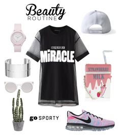 """bgdsffg"" by kata-szabo on Polyvore featuring Accessorize, NIKE, Chicnova Fashion, Juicy Couture, Dinh Van and Kosha"