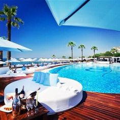 Can't wait to go back already! <3 #marbella #oceanclub #champagnesprayparty