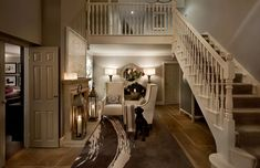 bigger version of our hallway - April Hamilton Interior Designers London Surrey & UK