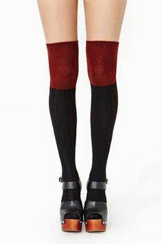 Double Take Thigh Highs