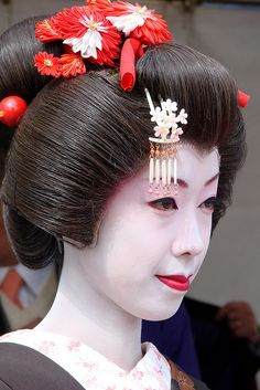 Though I specialize in Kyoto geiko/maiko this is a Tokyo geisha.
