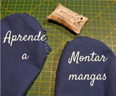 Curso de costura : aprende a montar mangas - - sonia - Diy Clothing, Sewing Clothes, Clothing Patterns, Sewing Patterns, Embroidery Patterns, Sewing Tools, Sewing Tutorials, Sewing Hacks, Sewing Projects