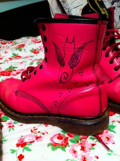 DR. MARTENS 1460 CANDY PINK SOFTY T LEATHER BOOTS SIZE UK 6 | eBay