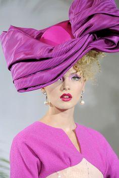 Alexandra Tretter at Christian Dior haute couture, fall 2009