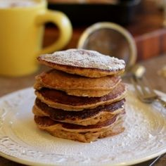 Gluten Free Morning Glory Pancakes HealthyAperture.com