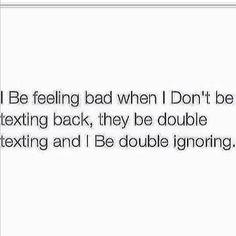 """""""Double ignoring"""""""