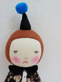 Handmade doll / EEchingHandmade /  Etsy