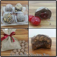 Deliciosos chocolates artesanais!! Trufas, pão de mel..