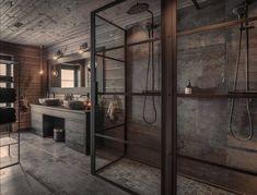 Loft Interior Design, Loft Design, Deco Design, Bathroom Interior Design, Villa Design, House Design, Tiny House Cabin, Cabin Interiors, Decoration Design