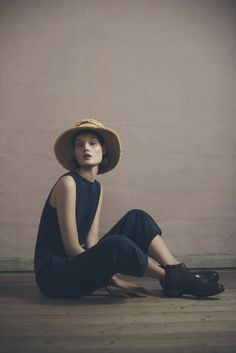 Fringe Hat and Suella Jumpsuit | Samuji Pre-Fall 2015 Collection