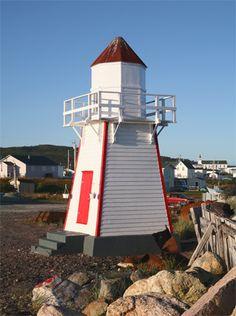 Garnish #Lighthouse - Newfoundland, #Canada at Lighthousefriends.com http://dennisharper.lnf.com/