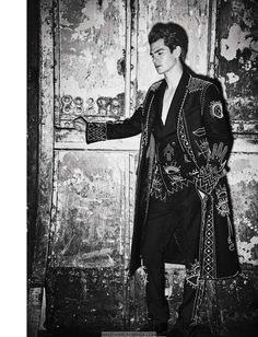 Andrew Garfield para L'Uomo Vogue Septiembre 2016