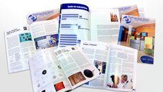 Refractoláser magazine. #Diseño y #maquetación by  @RoussyOne (Rosa León - Graphic Designer & Web) Edición especial por el XXI Aniversario de esta Clínica Oftalmológica.