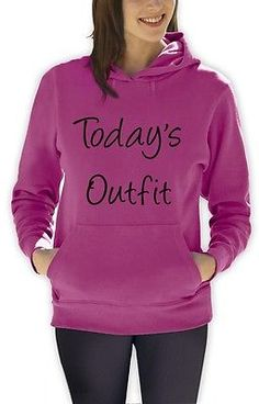 Todays Outfit Women Hoodie WTF Hipster SWAG Fashion Coco Summer Style Hooded Top | eBay