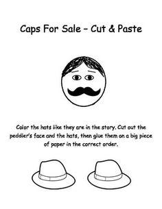 """""""Caps For Sale"""" -  Cut & Paste Activity"""