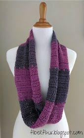 Free Crochet Pattern - Infinity Scarf