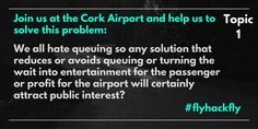 Cork Airport hackathon reveals its theme and gathers traction on Twitter #flyhackfly Fly Hack, Cork, September, How To Plan, Twitter, Corks
