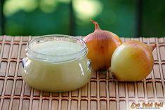 Ezt fald fel!: Vöröshagymakrém télire, avagy a házi hagymakrém receptje Onion, Food And Drink, Coconut, Fruit, Vegetables, Drinks, Recipes, Ideas, Canning