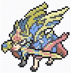 Pokemon Diys, Art Pokemon, Pokemon Perler Beads, Pearler Beads, Pokemon Sprites, Pixel Drawing, Anime Pixel Art, Iron Beads, Perler Bead Art