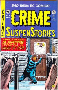 Scary Comics, Crime Comics, Ec Comics, Horror Comics, Comic Book Covers, Comic Books, Harlequin Romance Novels, Creepy Guy, Comics For Sale