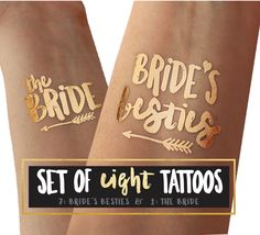 Tattoos for bachelorette Parties / Bachelorette tshirt slogan on a tattoo / perfect for hen do / tattoo matches tanks or shirt by thetattooboutique on Etsy https://www.etsy.com/uk/listing/273937856/tattoos-for-bachelorette-parties
