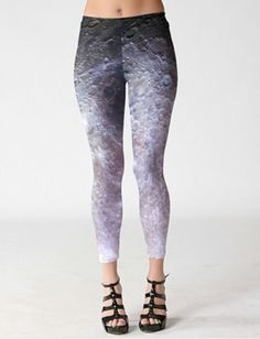 Run To The Moon Leggings feature with the lunar surface print throughout.The distinctive design will catch your audience at once.Match with your individual top and particular design to build your different look Galaxy Leggings, Printed Leggings, Space Outfit, Galaxy Space, Indie Brands, Trousers, Pants, Running, Space Clothing