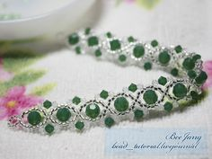 Beejang's crystal bracelet. Step by step. #Seed #Bead #Tutorials