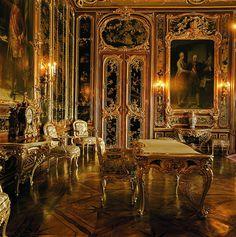 Vieux Laque Room at Schonbrunn Palace, Vienna Austria