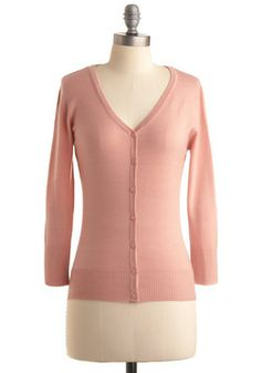 Charter School Cardigan in Rose, #ModCloth - Wish it came in plus sized.