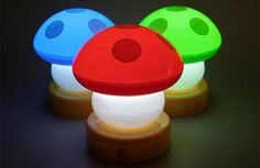 Perfect gift idea for geek! Mario mushroom lamp will be amazing on your best nerd friend desk. Perfect gift idea for geek! Mario mushroom lamp will be amazing on your best nerd friend desk. Home Improvement Projects, Home Projects, Design Projects, Lampe 3d, Mario Room, Mushroom Lights, Vintage Industrial Lighting, Vintage Lamps, Deco Originale