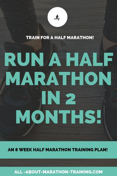 8 Week Half Marathon Training Plan: 2 months to the finish line! - 8 Week Half Marathon Training Plan: 2 months to the finish line! Marathon Training Plan Beginner, Half Marathon Training Schedule, Marathon Plan, Marathon Tips, Running For Beginners, Running Tips, Running Songs, Running Humor, Running Half Marathons
